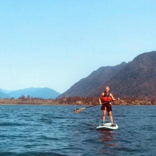 Trip Report: Paddleboarding Lake Quinault, WA