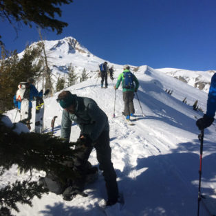 Trip Report Backcountry Skiing the Newton Clark Moraine on Mt. Hood