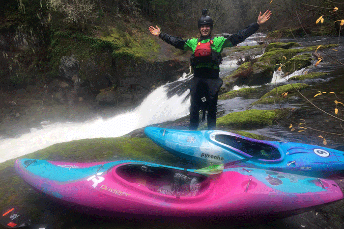 Kayaking the East Fork of the Lewis River