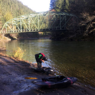 Trip Report: Kayaking the Clackamas River from Three Lynx to Toilet Bowl