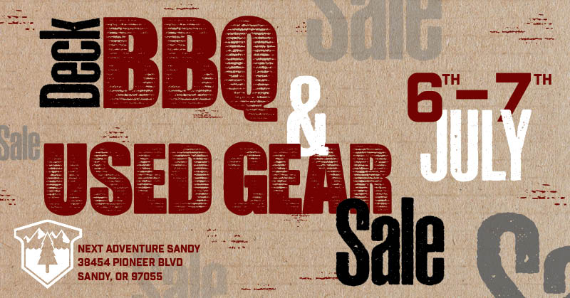Sandy BBQ and Used Gear Sale