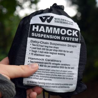 Gear Review: Wilderness Technology Hammock Suspension System