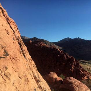 Trip Report: Rock Climbing Calico Basin in Red Rocks Canyon, NV