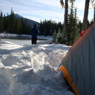 Trip Report: Spring Snow Camping at Wall Lake