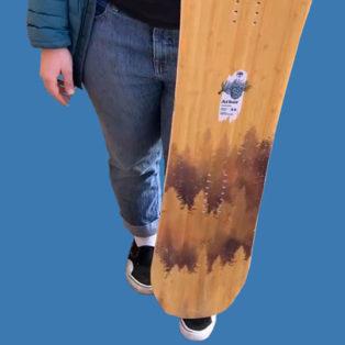 Video Gear Review: Arbor Swoon Rocker Snowboard - 2020
